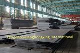 Placa de aço laminada a alta temperatura para a estrutura de edifício