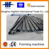 Rolo solar de aço do suporte que dá forma à máquina