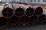 Tubo de acero soldado costura recta (diámetro: 200-3400m m)
