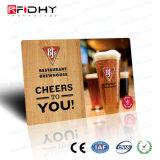 ユニバーサル(デュアルインターフェイス)スマートな光沢PVCカード