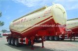 Acoplado concreto del cemento del bulto del acoplado del tanque del polvo del cemento del petrolero del acoplado a granel semi