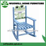 A madeira de pinho caçoa a cadeira de balanço da mobília