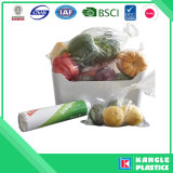 Мешок замораживателя пластичных замороженных продуктов упаковывая