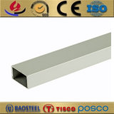 pipe rectangulaire en aluminium anodisée du grand diamètre 6082 6061 6063