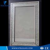 De veelzijdige Spiegel van de Werktijd van het Frame Decoratieve Zilveren