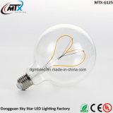 Conservar o bulbo de lâmpada retro decorativo do filamento do diodo emissor de luz de 90% 4W 2200K