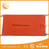 Плита силиконовой резины гибкая горячая для подогревателя 12V батареи лития тепловозного