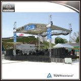 Tienda de aluminio del braguero de la etapa al aire libre del concierto