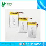 Batería 523450 de la buena calidad 850mAh Lipo para el GPS