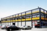 Edificio prefabricado del supermercado de la estructura de acero