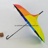 """21 """" X16K 무지개 색깔 Pagoda 우산 옥외 일요일 우산 (YSS0133)"""