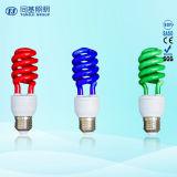 CFL/ESL Glühlampe-halbe gewundene Farben-kleine Leuchtstoffgefäße