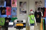 기계를 인쇄하는 t-셔츠 디지털 프린터
