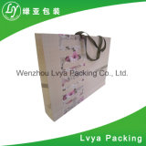 Sac de papier réutilisé s'arrêtant avec le sac à provisions de papier de empaquetage de sac de chaussure de traitement