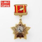 卸し売りギフトのカスタム米国のレプリカのドイツの兵士のメダル販売のための軍の宗教軍隊賞の円形浮彫りのリボン