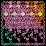 De unieke Sjaal van Patronen 100%Silk