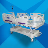 Bae517ec preiswertes elektrisches Bett der Preis-Krankenhaus-Walzen-Prüfungs-ICU für Patienten mit Matratze