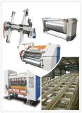 Chaîne de production semi automatique de carton ondulé de vitesse