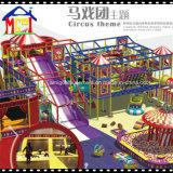 Зона игры замока крытой игры малышей спортивной площадки установленной мягкой капризная