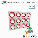 La MAZORCA Uranus 12X168W LED de los Alto-Lúmenes crece ligera para las hierbas