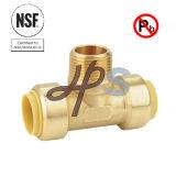 Upc, do impulso de bronze livre da ligação do NSF acoplamento apto do T de Mnpt