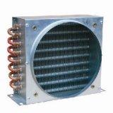 Type à ailettes condensateur de tube de cuivre