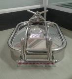 衛生正方形のマンホールカバーステンレス鋼304 EPDM
