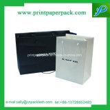 Saco da impressão do saco de compra do papel do saco do Livro Branco