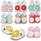 Скандалы ботинок цветков тапки ребёнков малыша мягкие единственные