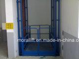 Elevación hidráulica certificada CE de la plataforma del carril para la venta