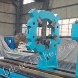 Máquina horizontal pesada del torno del metal de la alta calidad C61250 para el corte