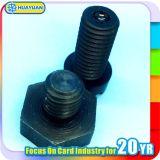 Frecuencia ultraelevada RFID de la industria en etiqueta del metal con la temperatura alta resistida