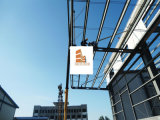Helles Stahlkonstruktion-Gebäude für Logistik-Lager