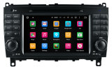 Hla 7 lecteur DVD stéréo GPS Sat Navi de véhicule de dans-Tableau de bord de l'androïde 5.1 de pouce avec la radio de Bluetooth pour le benz Clk/Cls/C