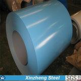El color cubrió la bobina de acero galvanizada de PPGI para el material de construcción