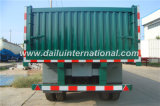 Remorque de camion de remorque de mur latéral de 2 essieux semi à vendre