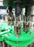 Linea di produzione di coperchiamento di riempimento automatica completa dello spumante