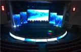 Visualización de alquiler LED de la etapa posterior de P3 HD LED de la etapa de interior de la pantalla para
