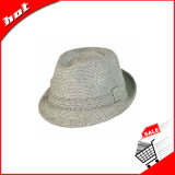 Sombrero colorido del sombrero de ala, sombrero de paja de papel
