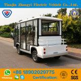 Zhongyi 새로운 고품질 8 시트는 세륨과 증명서로 전기 셔틀 관광 버스를 둘러싸았다