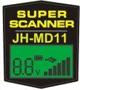 Scanner de détecteur de métaux de Md11 Handhe pour le degré de sécurité de souterrain