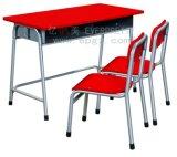 Tableau et chaise uniques de meubles de salle de classe doubles