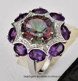 Кольца Jewellery установленные с мистический камнем Topaz и цвета (TR1222)