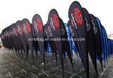 Wind-Strand-Markierungsfahne für das Bekanntmachen, Förderungteardrop-Markierungsfahne