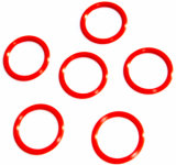 De verschillende O-ring van de Verbinding van de Grootte/van de Kleur NBR/FKM/Viton/EPDM Hydraulische/de RubberO-ring van het Silicone