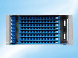 Preços promocionais Rack Mount Sliding 24 72 96 Port Fiber Optic Patch Panel Painel frontal
