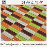 Fabrik-Preis-Schwarz-Mosaik-Pool-Fliese-Quadrat-Kamin-Einfassungs-Glas