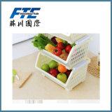 Stärkeres haltbares Speicherplastikfrucht-Korb für Haushalt