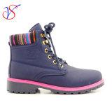 Работа 2016 новая женщин человека впрыски типа Boots ботинки для работы с быстро отпуском (СИНЬ SVWK-1609-024)