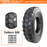 最上質TBRのタイヤの工場堅いダンプの放射状のトラックのタイヤ(1200r20)